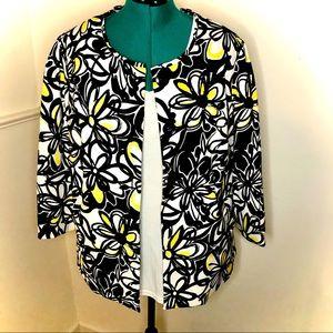 CATO Boxy Floral Jacket